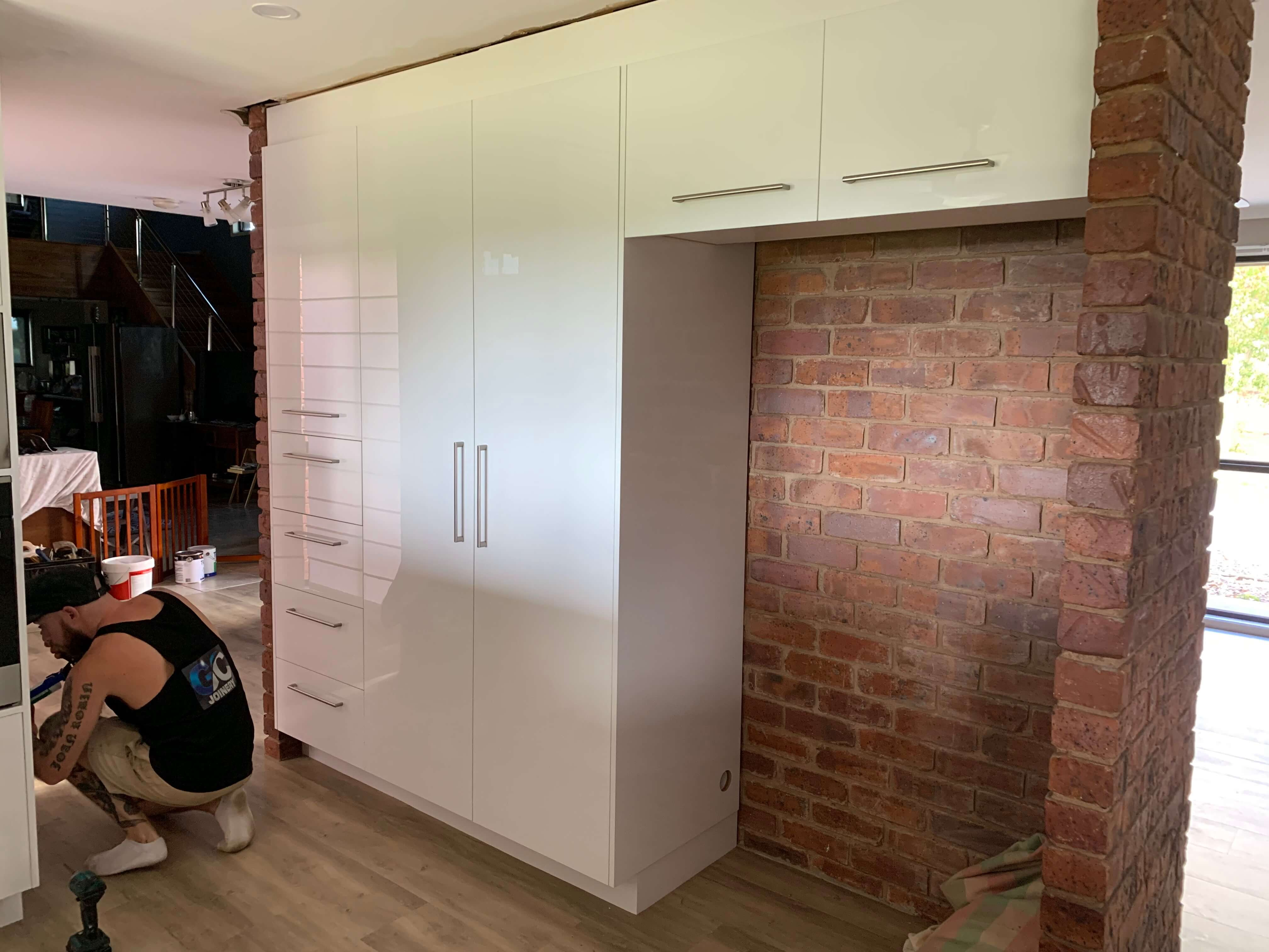 Best Cupboard space by Grant Cole Joinery