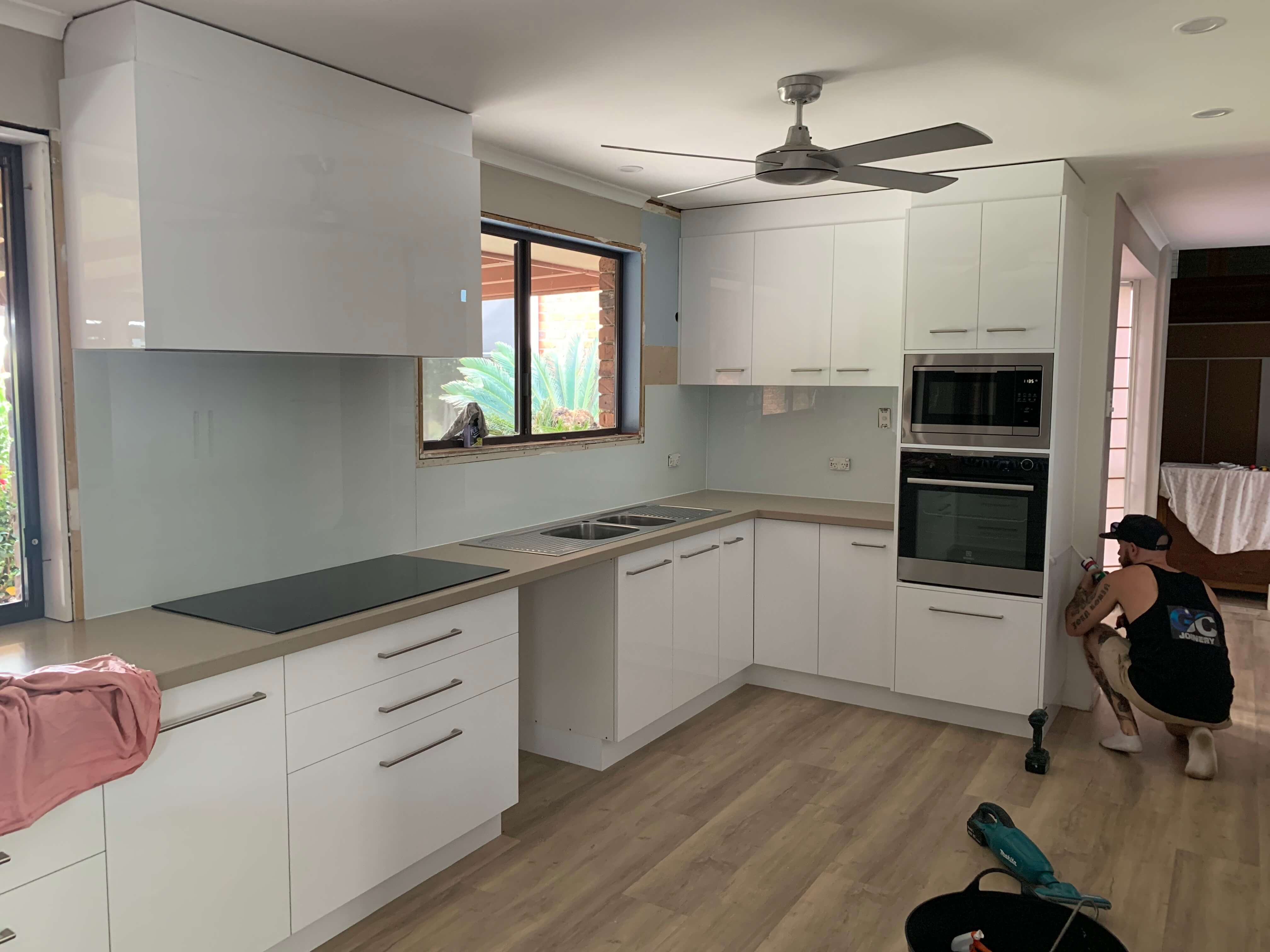 New Kitchen Installation By Grant Cole Joinery